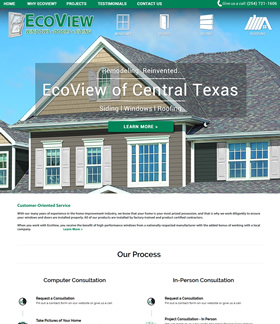 EcoView of Central Texas Website Design