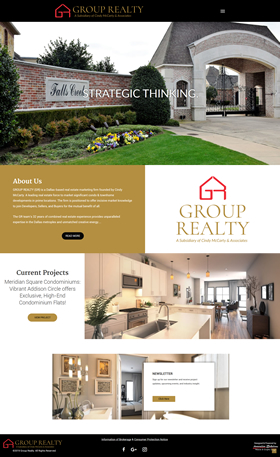Waco Website Design - Group Realty