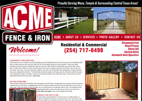 ACME Fence & Iron Company - Waco, Texas