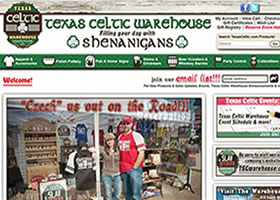 Texas Celtic Warehouse - Bremond, Texas