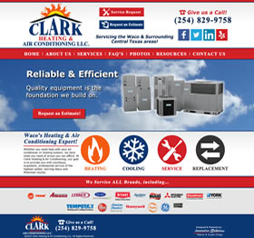 Clark Heating & Air Conditioning - Waco, Texas