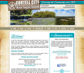 Coryell City Water Supply District - Coryell City, Texas