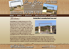 Berry Raley's Custom Fence & Gate Operator Co. - Crawford, Texas