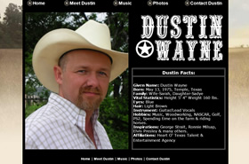 Dustin Wayne | Country Music Singer