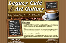 Legacy Cafe & Art Gallery