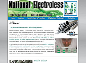 National Electroless Nickel - Dallas & Houston, Texas