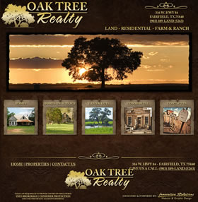 Oak Tree Realty, Farifield, TX