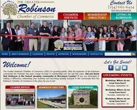 Robinson Chamber of Commerce - Robinson, Texas